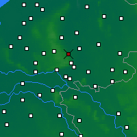 Nearby Forecast Locations - Eerbeek - карта