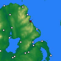 Nearby Forecast Locations - Glenarm - карта
