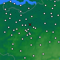 Nearby Forecast Locations - Дендермонде - карта