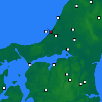 Nearby Forecast Locations - Blokhus - карта