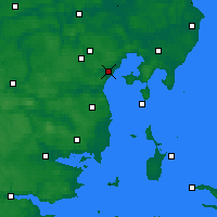 Nearby Forecast Locations - Egå - карта