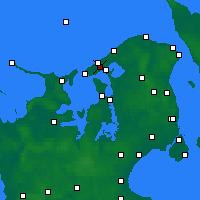 Nearby Forecast Locations - Melby - карта