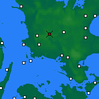 Nearby Forecast Locations - Сорё - карта