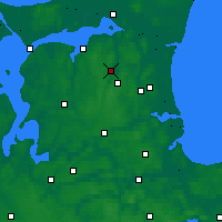 Nearby Forecast Locations - Støvring - карта