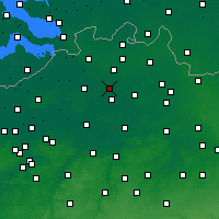 Nearby Forecast Locations - Zandhoven - карта