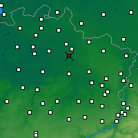Nearby Forecast Locations - Meerhout - карта