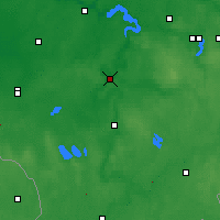 Nearby Forecast Locations - Бирштонас - карта