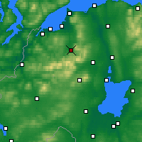 Nearby Forecast Locations - Dungiven - карта