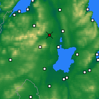 Nearby Forecast Locations - Maghera - карта