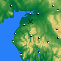 Nearby Forecast Locations - Wigton - карта