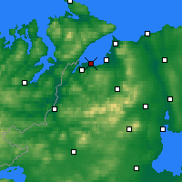 Nearby Forecast Locations - Дерри - карта