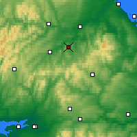 Nearby Forecast Locations - Джедборо - карта