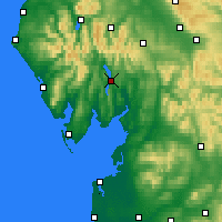 Nearby Forecast Locations - Windermere - карта