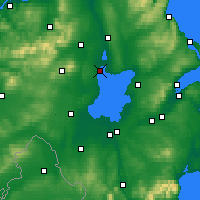 Nearby Forecast Locations - Лох-Ней - карта