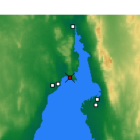 Nearby Forecast Locations - False Bay - карта