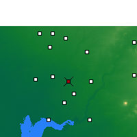 Nearby Forecast Locations - Nadiad - карта