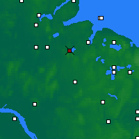 Nearby Forecast Locations - Westensee - карта