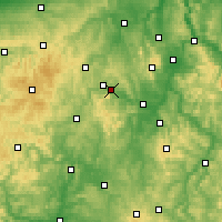Nearby Forecast Locations - Edersee - карта