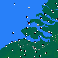 Nearby Forecast Locations - Renesse - карта