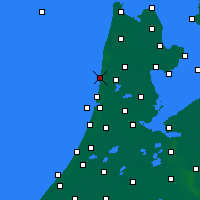 Nearby Forecast Locations - Egmond aan Zee - карта