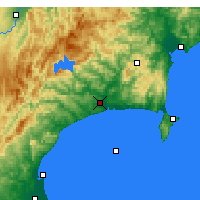 Nearby Forecast Locations - Wairoa - карта