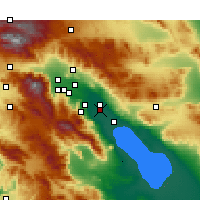 Nearby Forecast Locations - Thermal - карта