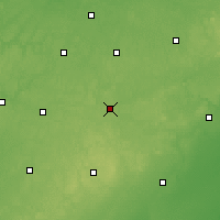 Nearby Forecast Locations - Jackson - карта