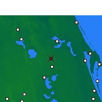 Nearby Forecast Locations - Orlando AP/H - карта