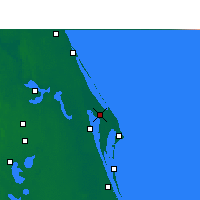 Nearby Forecast Locations - C. Canaveral - карта