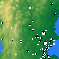 Nearby Forecast Locations - Нашуа - карта