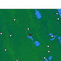 Nearby Forecast Locations - Leesburg - карта