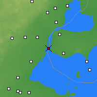 Nearby Forecast Locations - Grosse Isle - карта