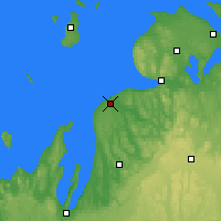 Nearby Forecast Locations - Charlevoix - карта