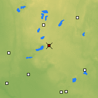 Nearby Forecast Locations - Гленвуд - карта