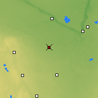 Nearby Forecast Locations - St James - карта