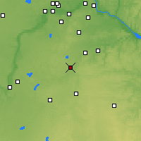 Nearby Forecast Locations - Фэрибо - карта