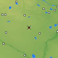 Nearby Forecast Locations - Хатчинсон - карта