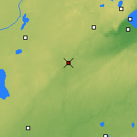 Nearby Forecast Locations - Moose Lake - карта