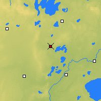 Nearby Forecast Locations - Pine River - карта