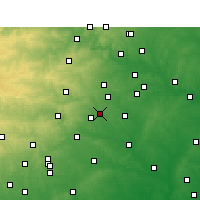 Nearby Forecast Locations - San Marcos - карта