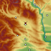 Nearby Forecast Locations - Ellensburg - карта