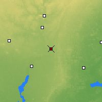Nearby Forecast Locations - Stevens Point - карта