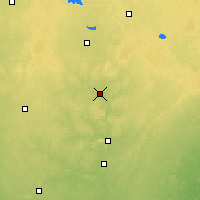 Nearby Forecast Locations - Merrill - карта