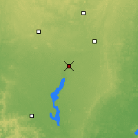 Nearby Forecast Locations - Wisconsin Rapids - карта