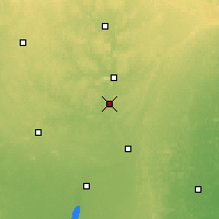Nearby Forecast Locations - Mosinee - карта