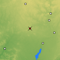 Nearby Forecast Locations - Marshfield - карта
