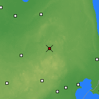 Nearby Forecast Locations - Lapeer - карта