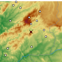 Nearby Forecast Locations - Fundao - карта