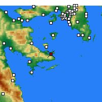 Nearby Forecast Locations - Порос - карта