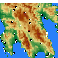 Nearby Forecast Locations - Kollines - карта